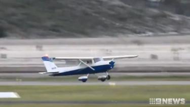 A Western Australian trainee pilot has successfully made an emergency landing.