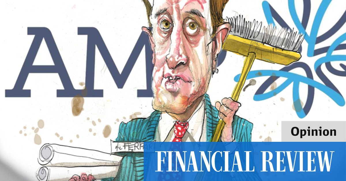 AMP's days are numbered – The Australian Financial Review