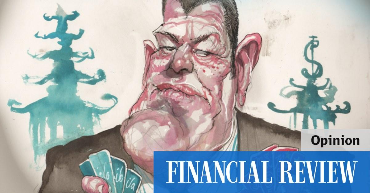 China's Macau gambling crackdown shows James Packer got one thing right – The Australian Financial Review