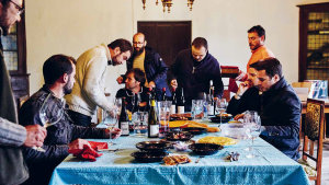 Lunch with Envinate, Guimaro and Fedellos do Couto, part of a community of high-quality  winemakers in Ribeira Sacra, Spain.