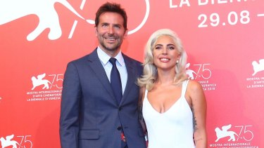 Bradley Cooper and Lady Gaga at the 75th Venice Film Festival in August.