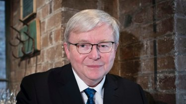 Honoured, Kevin Rudd.