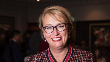 Melbourne's lord mayor Sally Capp, who received $332,000 in campaign donations last year.