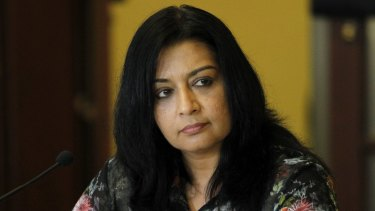 Taking over: Dr Mehreen Faruqi.