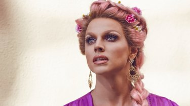 Celebrity Big Brother winner Courtney Act.