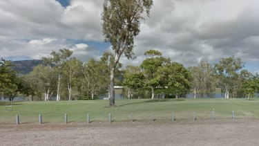 The girl drowned in the Ross River at Rossiter Park.