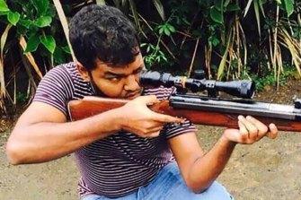 Auckland attacker Ahamed Aathill Mohammad Samsudeen.