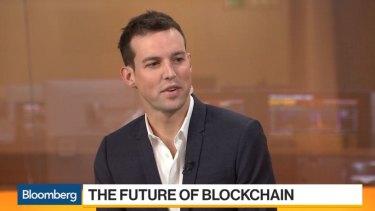 Block.one CEO Brendan Blumer.