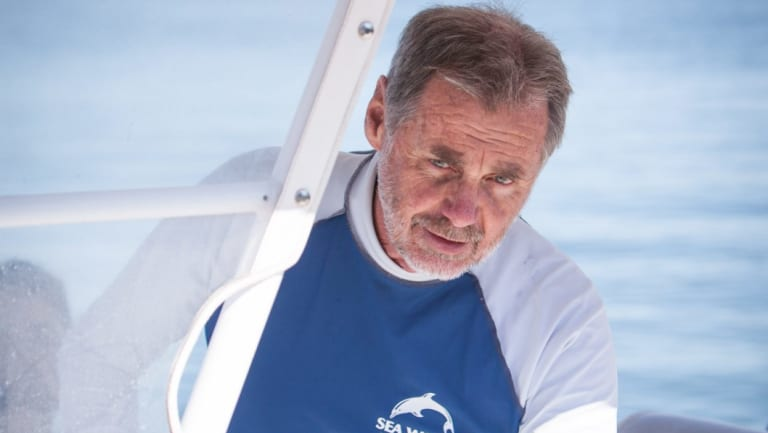 Trevor Long, director of marine sciences at Sea World, has criticised the use of shark nets.
