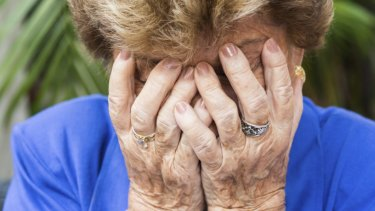 Older women are experiencing huge financial, family and work-related stresses.