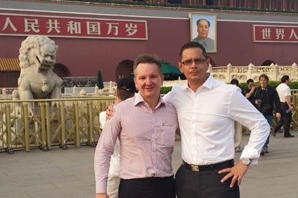 Wyatt's all-expenses-paid China trip linked to controversial billionaire