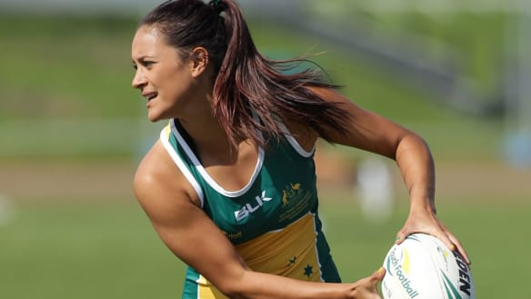 Australian sevens bolter Yasmin Meakes is still pinching herself