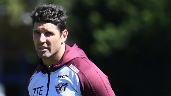 Manly chief says Barrett issue should be resolved soon