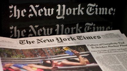 NYT boss warns publishers could be hurt in crackdown