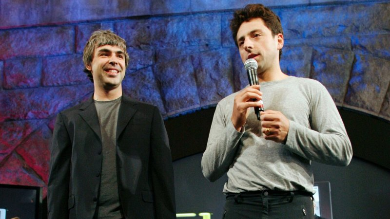 co founders of google