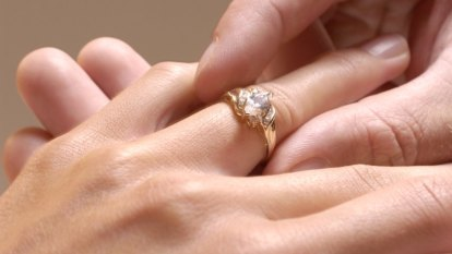 People are having their diamonds made, literally from the ashes of love