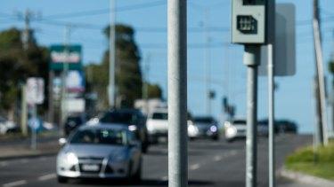 Traffic enforcement cameras in Chadstone.