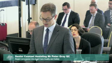The commission's senior counsel assisting Mr Peter Gray QC made the recommendations to the  royal commission.