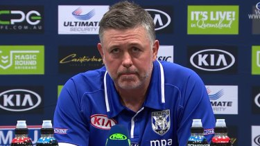 Fall guy: Bulldogs coach Dean Pay appears to have been set up to fail.