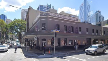 The Stock Exchange Hotel, on the corner of Edward and Charlotte streets, has been operating since 1863 in Brisbane.