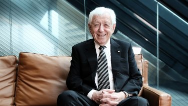 Westfield co-founder Frank Lowy is among the property developers leading the list of donors over two decades.