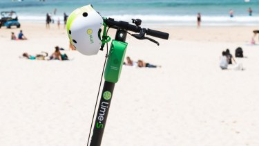 Lime scooters have arrived on the Gold Coast ... but not for long.