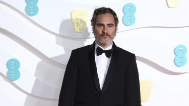 Actor Joaquin Phoenix at the Bafta Film Awards in London earlier this month.