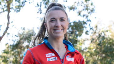 Sarah Klau is one of just two Swifts to remain uncontracted.