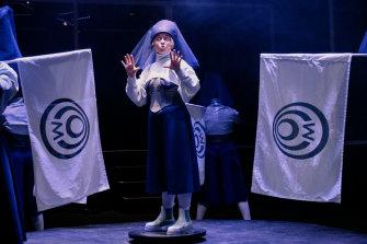 Mara Korper at Theatre Works.