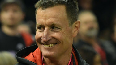 Quiet resolve: Worsfold's position, imperiled before the round-15 GWS snatch, must be secure for next year now.