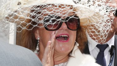 She's back: Gina Rinehart is headed to Flemington for the Spring Racing Carnival.