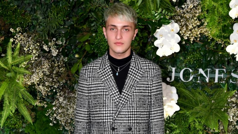 Anwar Hadid at the David Jones Spring Summer 2018 Collections Launch on August 8.
