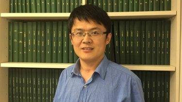 Curtin University's Dr Guohua Jia.