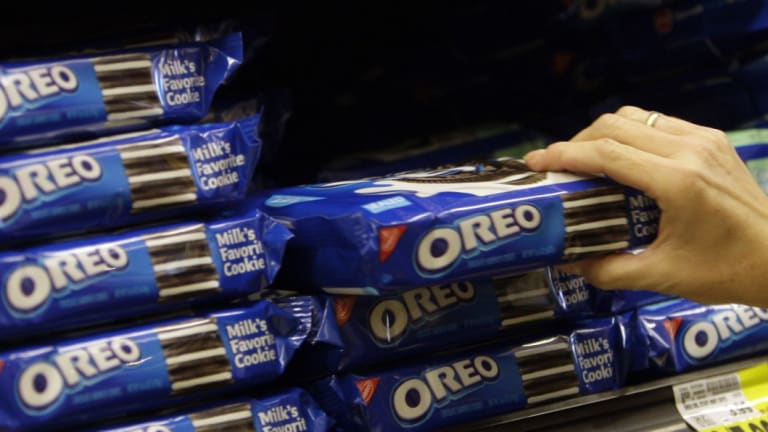 Mondelez' Oreo cookies do not carry a health star rating.