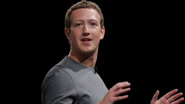 """""""From here on out, it's a frictionless experience,"""" Facebook CEO Mark Zuckerberg has said."""