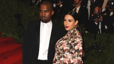 Kim Kardashian and Kanye West attend the 'Punk: Chaos to Couture' Costume Institute Benefit Met Gala in 2013.