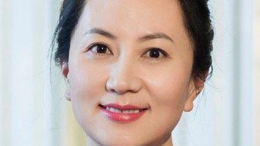 Huawei's chief financial officer Meng Wanzhou.
