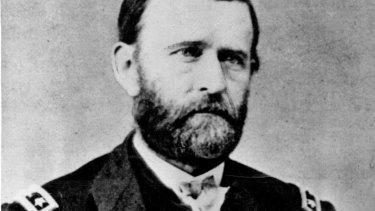 US Civil War hero and former president Ulysses S. Grant.