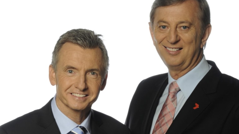 Bruce McAvaney will likely head Seven's cricket coverage, but what about Dennis Cometti?