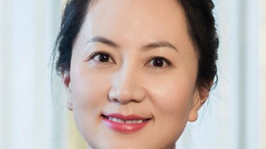 Huawei's chief financial officer Meng Wanzhou.