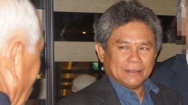 Senior Malaysian political figure Mohammad Lan Allani.