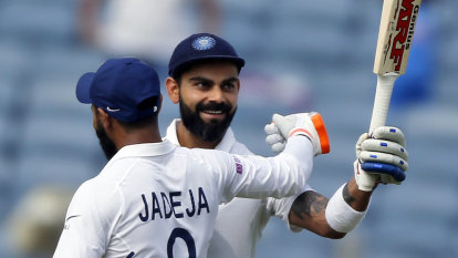 Kohli's masterful double-ton puts India in control against South Africa