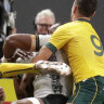 Wallabies winger Hodge cited for 'dangerous' hit on Fiji No.7