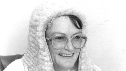 'Unstoppable trailblazer': NSW's first female judge, Jane Mathews, farewelled