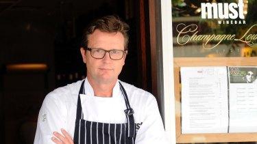 Must Winebar head chef Russell Blaikie.