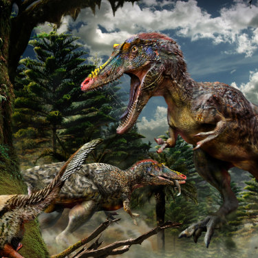 China's long-snouted tyrannosaur Qianzhousaurus, nicknamed Pinocchio Rex.