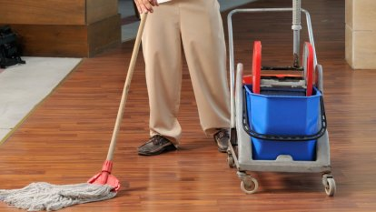 Do cleaners really need security clearances?