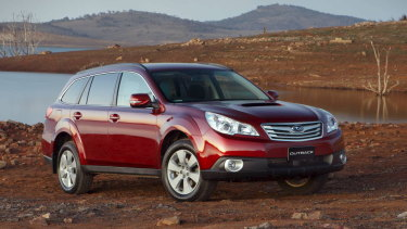 All Subaru Outback models with the model years 2010-2014 are part of the recall.