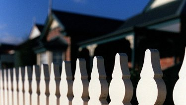 Beyond the white picket fence ... the Australian political landscape has shifted to the left.