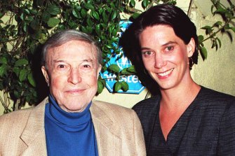 Gene Kelly and wife Patricia nee Ward in 1994.